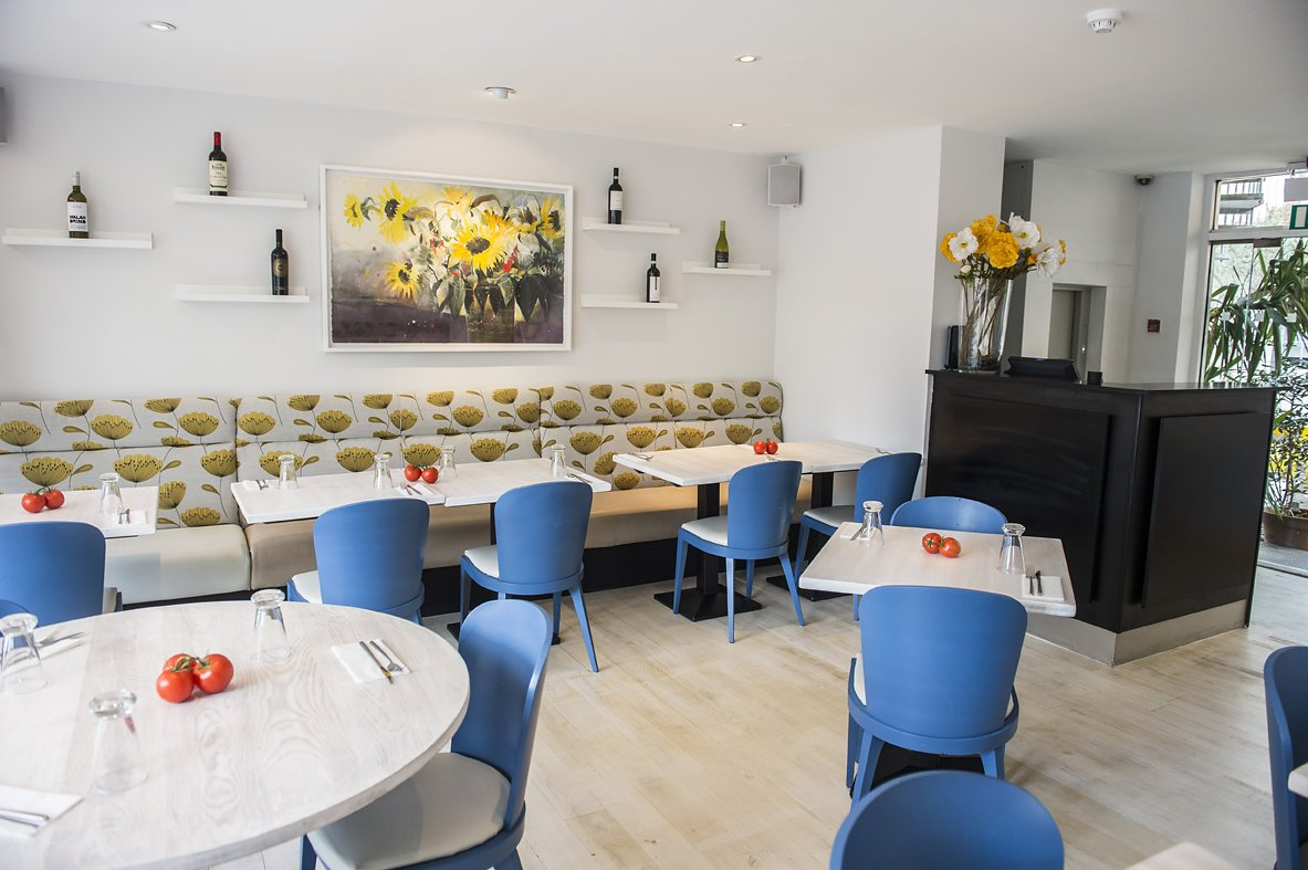 amici seating area till - Daniel Cobb - Locally grown