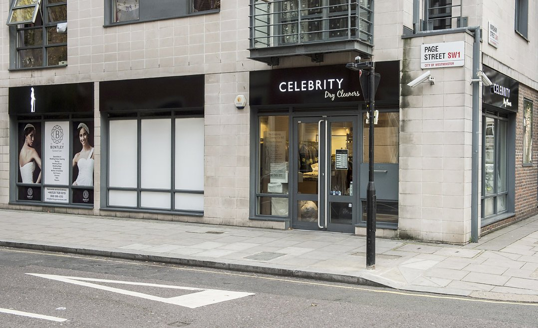 Celebrity Dry Cleaners External1