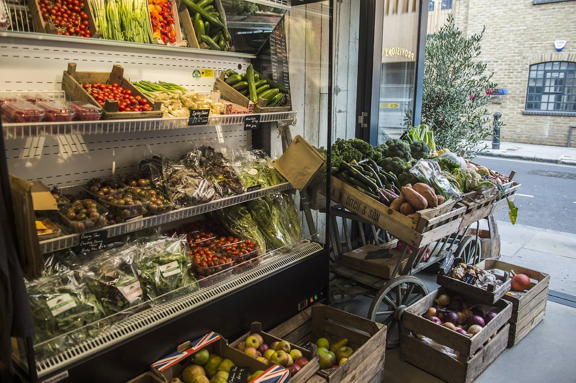 giddy grocer produce - Daniel Cobb - Locally grown