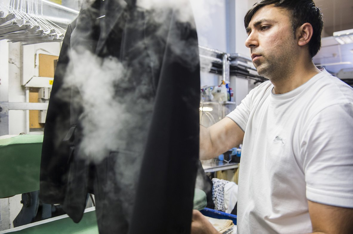 kennington dry cleaners iron steam 2 - Daniel Cobb - Locally grown