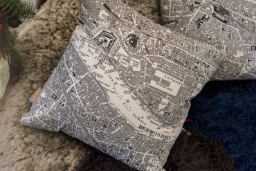 Lovely and British Pillow - Daniel Cobb - Locally grown