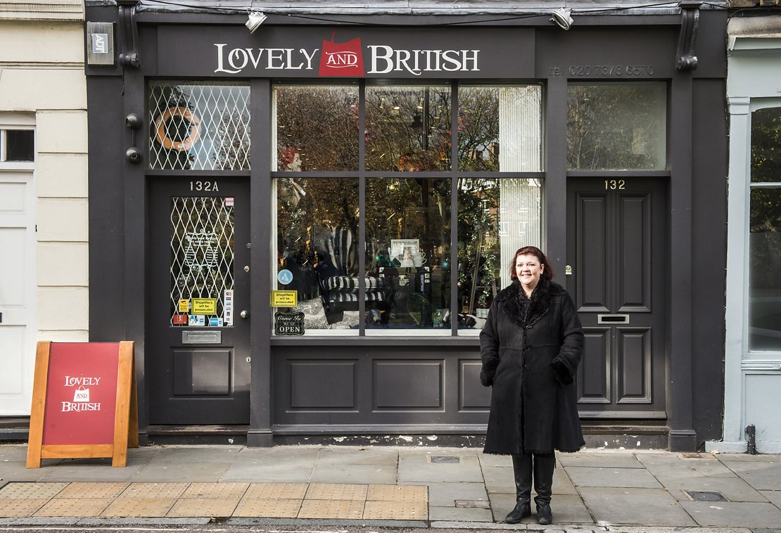 Lovely and British shop front owner1