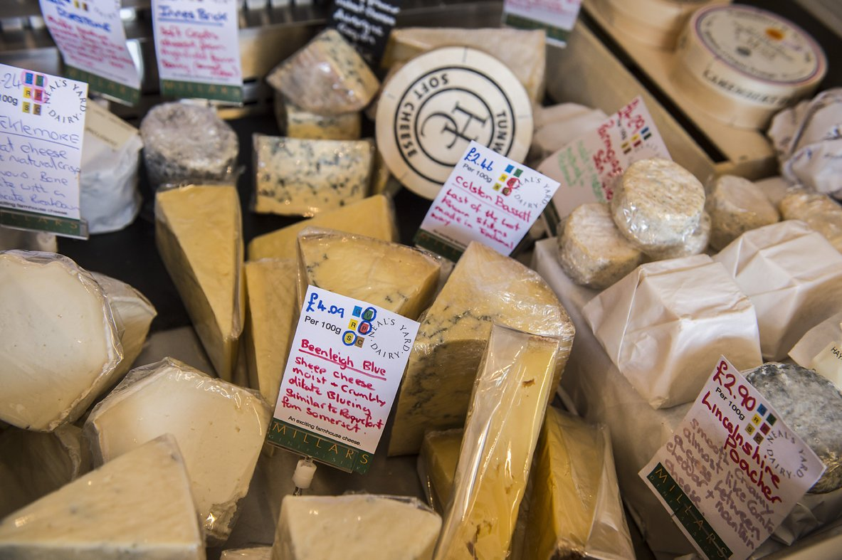 millars general store cheese - Daniel Cobb - Locally grown