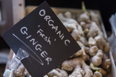 millars general store organic ginger - Daniel Cobb - Locally grown